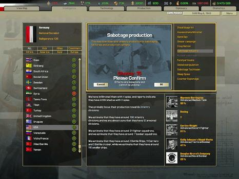 Hearts of Iron II: Complete on PC screenshot #2