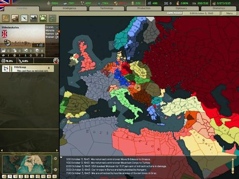 Hearts of Iron II: Complete on PC screenshot #1