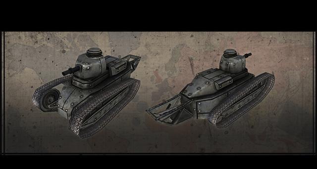 Hearts of Iron III: Axis Minor Vehicle Pack on PC screenshot #9