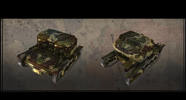 Hearts of Iron III: Axis Minor Vehicle Pack on PC screenshot #8