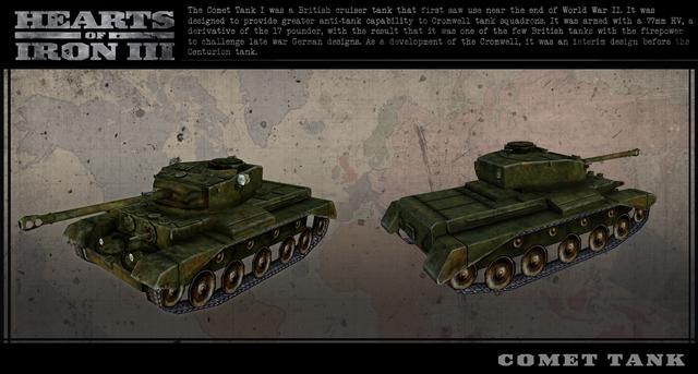 Hearts of Iron III: British Vehicle Pack on PC screenshot #5