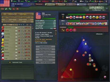 Hearts of Iron III: Collection on PC screenshot #2