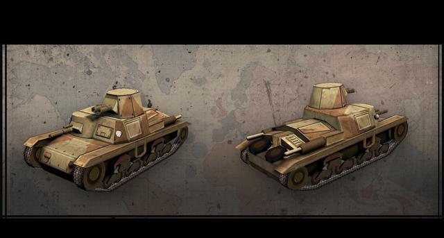 Hearts of Iron III: Italian Vehicles Unit Pack on PC screenshot #2