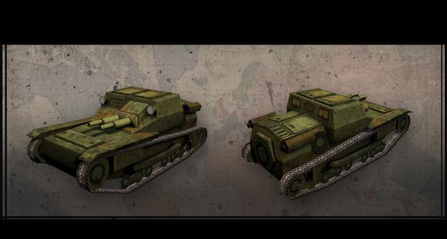 Hearts of Iron III: Italian Vehicles Unit Pack on PC screenshot #1