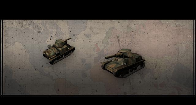 Hearts of Iron III: Italian Vehicles Unit Pack on PC screenshot #6