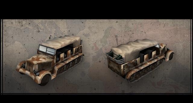 Hearts of Iron III: Italian Vehicles Unit Pack on PC screenshot #4