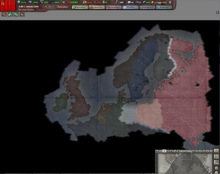Hearts of Iron III: For the Motherland on PC screenshot #5