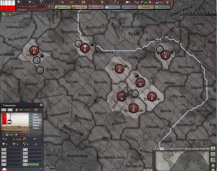 Hearts of Iron III: For the Motherland on PC screenshot #2
