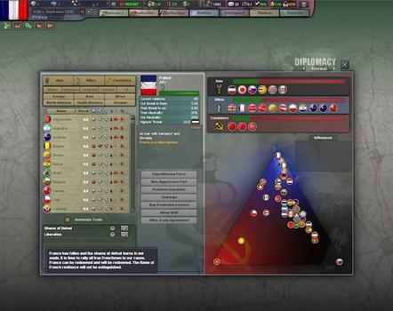 Hearts of Iron III: For the Motherland on PC screenshot #1