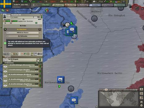 Hearts of Iron III: Semper fi on PC screenshot #5