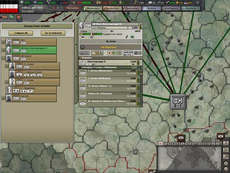 Hearts of Iron III: Semper fi on PC screenshot #4