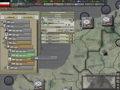 Hearts of Iron III: Semper fi on PC screenshot #3