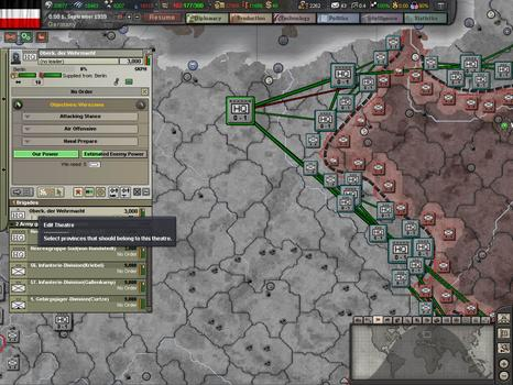 Hearts of Iron III: Semper fi on PC screenshot #1