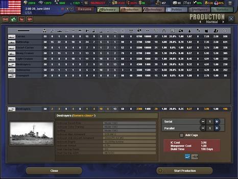 Hearts of Iron III on PC screenshot #5