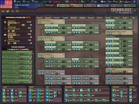 Hearts of Iron III on PC screenshot #3