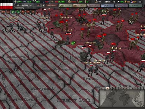 Hearts of Iron III on PC screenshot #1