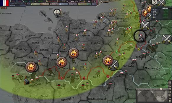 Hearts of Iron III: Their Finest Hour on PC screenshot #4