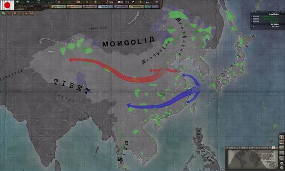 Hearts of Iron III: Their Finest Hour on PC screenshot #1