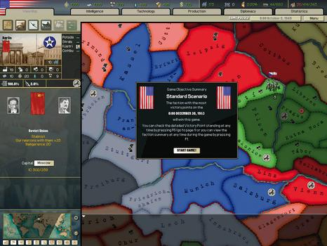 Hearts of Iron II on PC screenshot #3
