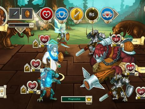 Heroes & Legends: Conquerors of Kolhar on PC screenshot #9