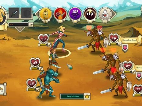 Heroes & Legends: Conquerors of Kolhar on PC screenshot #4
