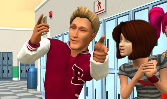 virtual high school dating games