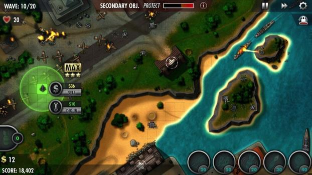 iBomber Defense Pacific on PC screenshot #4