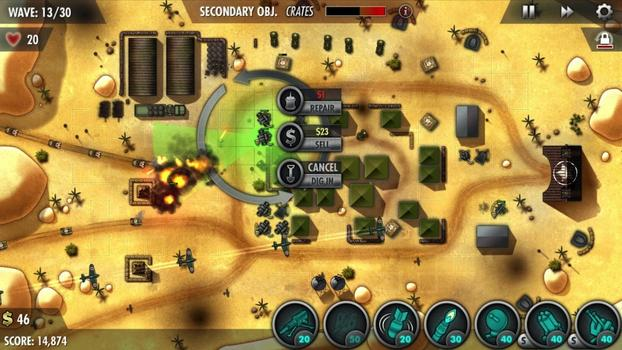 iBomber Defense Pacific on PC screenshot #1