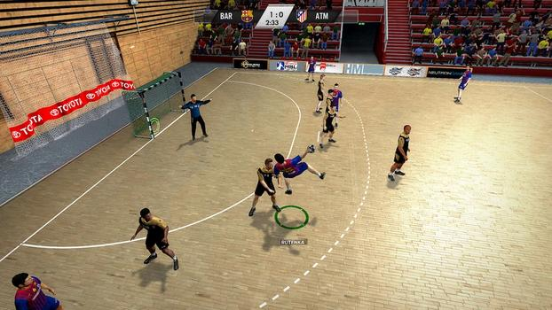 IHF Handball Challenge 12 on PC screenshot #5