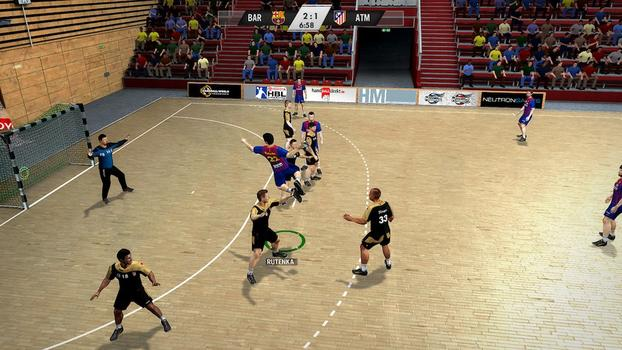 IHF Handball Challenge 12 on PC screenshot #3