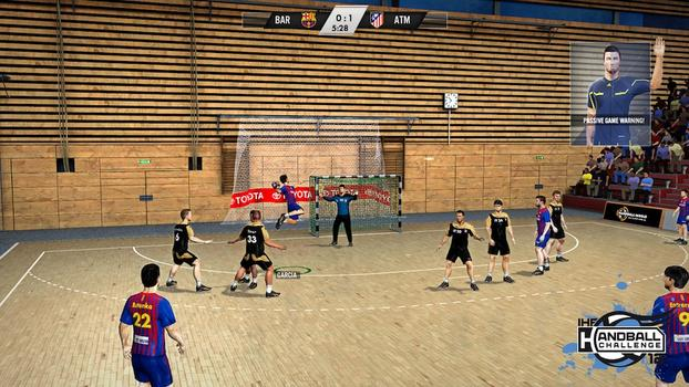 IHF Handball Challenge 12 on PC screenshot #1