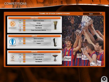 International Basketball Manager: Season 2010-2011 on PC screenshot #1