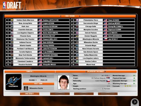 International Basketball Manager: Season 2010-2011 on PC screenshot #3
