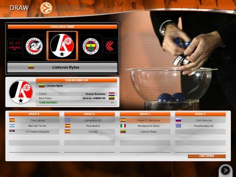 International Basketball Manager: Season 2010-2011 on PC screenshot #4