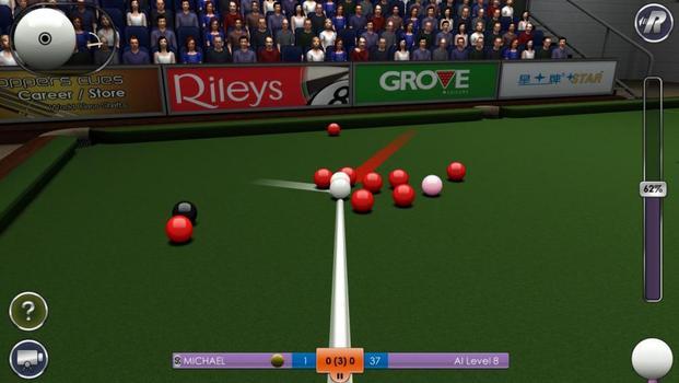 International Snooker on PC screenshot #1