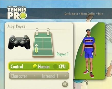 International Tennis Pro on PC screenshot #1