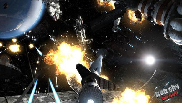 Iron Sky Invasion on PC screenshot #1