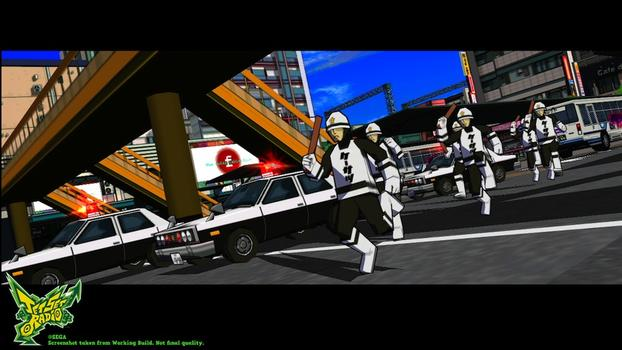 Jet Set Radio on PC screenshot #4