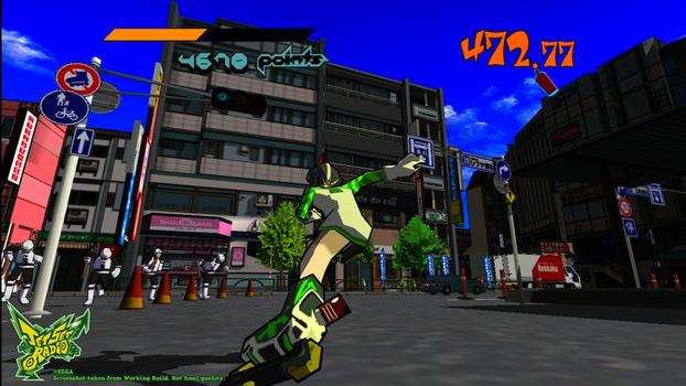 Jet Set Radio on PC screenshot #2