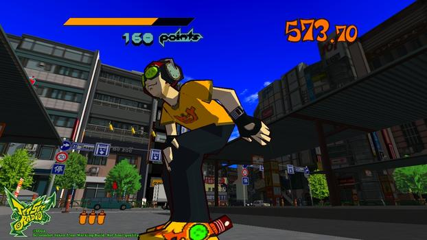 Jet Set Radio on PC screenshot #1