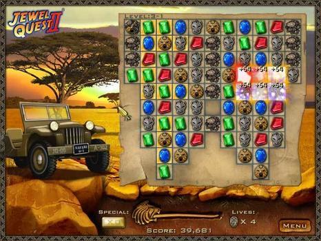 Jewel Quest II on PC screenshot #1