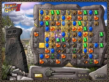 Jewel Quest II on PC screenshot #2