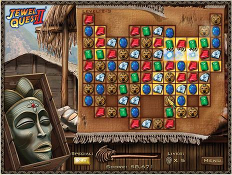 Jewel Quest II on PC screenshot #3