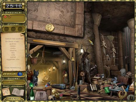 Jewel Quest Mysteries: Curse of the Emerald Tear on PC screenshot #2