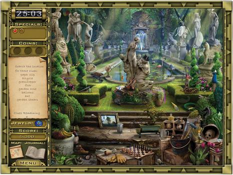 Jewel Quest Mysteries: Curse of the Emerald Tear on PC screenshot #3