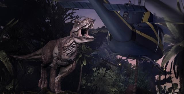 Jurassic Park: The Game on PC screenshot #1