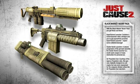 Just Cause 2: DLC Collection on PC screenshot #3