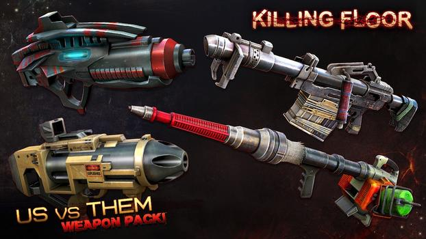 Killing Floor: Community Weapons Pack 3 - Us Versus Them Total Conflict Pack on PC screenshot #1