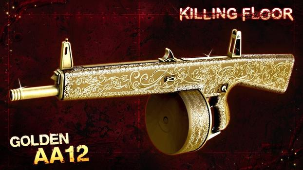 Killing Floor: Gold Weapon Pack 2 on PC screenshot #5