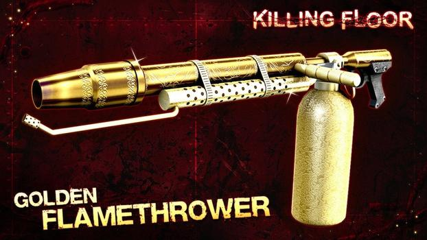 Killing Floor: Gold Weapon Pack 2 on PC screenshot #2